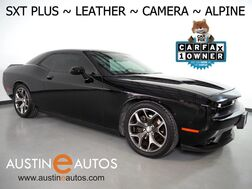 2015_Dodge_Challenger SXT Plus_*SUPER TRACK PAK, BACKUP-CAMERA, TOUCH SCREEN, NAPPA LEATHER, CLIMATE SEATS, HEATED STEERING WHEEL, 20 INCH WHEELS, ALPINE AUDIO, BLUETOOTH_ Round Rock TX