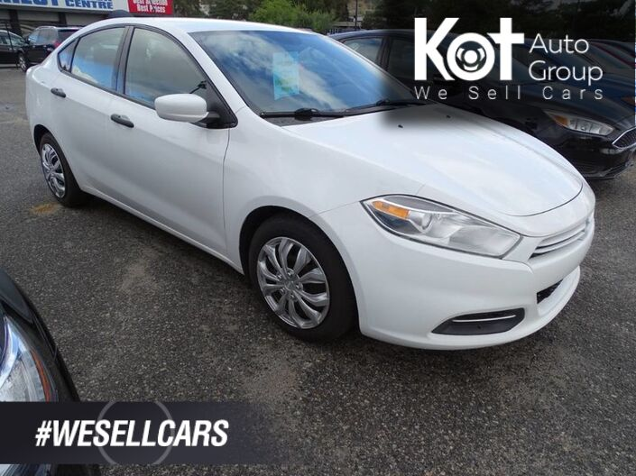 2015 Dodge Dart SE, Manual Transmission Kelowna BC