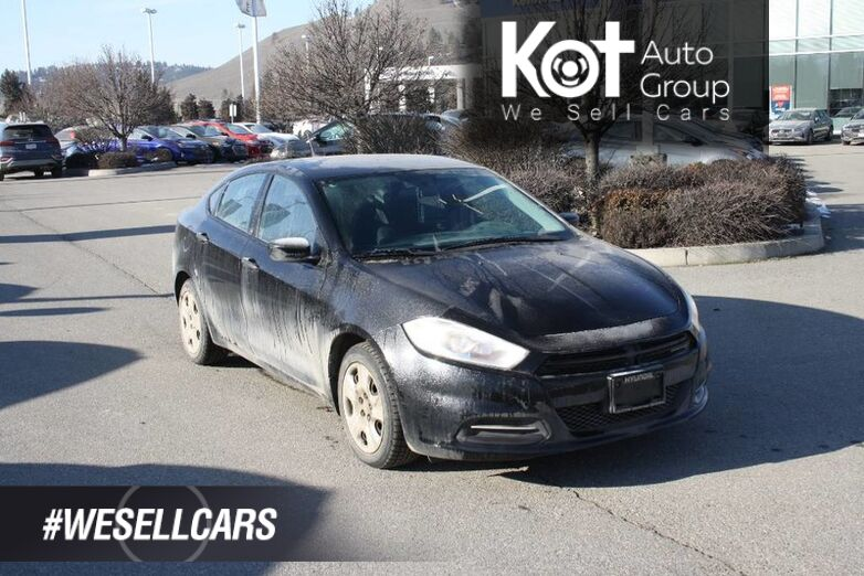 2015 Dodge Dart SE No accident, Low kms Kelowna BC