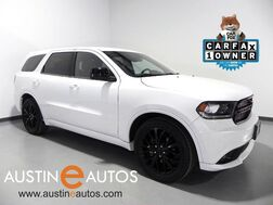 2015_Dodge_Durango SXT_*BLACKTOP PACKAGE, TOUCH SCREEN, LEATHER/SUEDE, 20 INCH BLACK ALLOYS, KEYLESS-GO, BLUETOOTH PHONE & AUDIO_ Round Rock TX