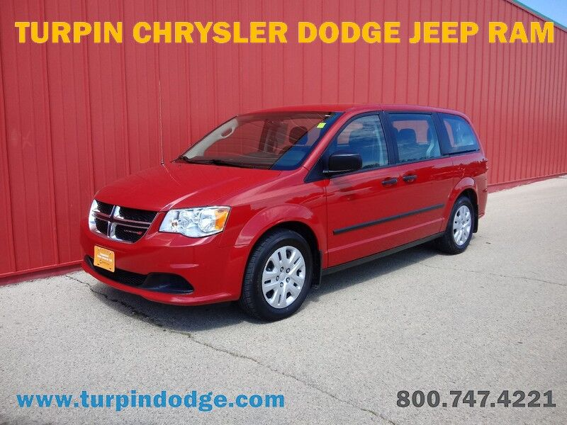 2015 Dodge Grand Caravan American Value Pkg Dubuque IA