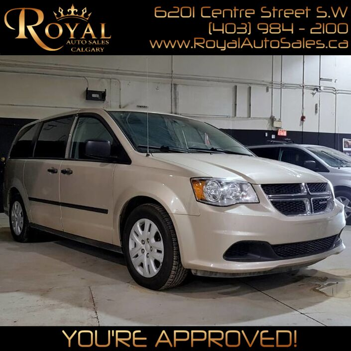 2015 Dodge Grand Caravan Canada Value Package Calgary AB