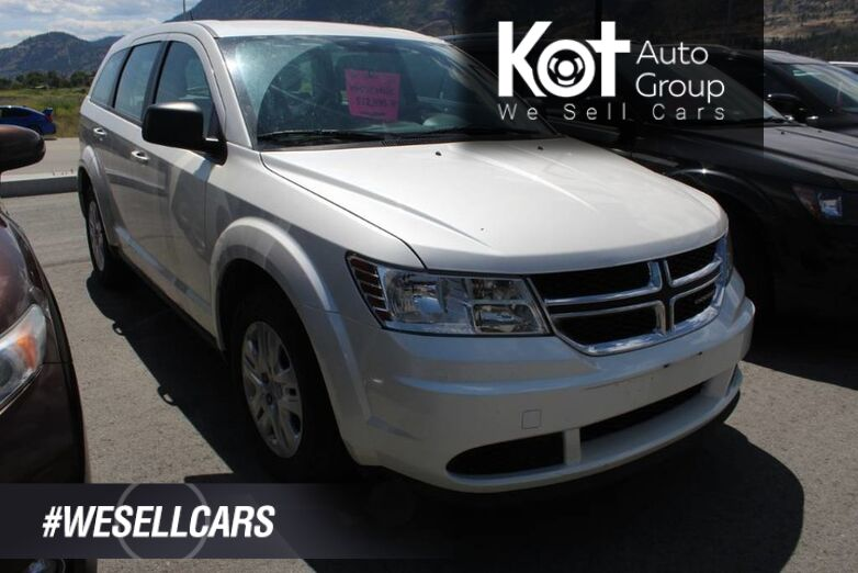 2015 Dodge Journey FWD Canada Value Pkg, ** Lots of Space** Clean Carfax Kelowna BC