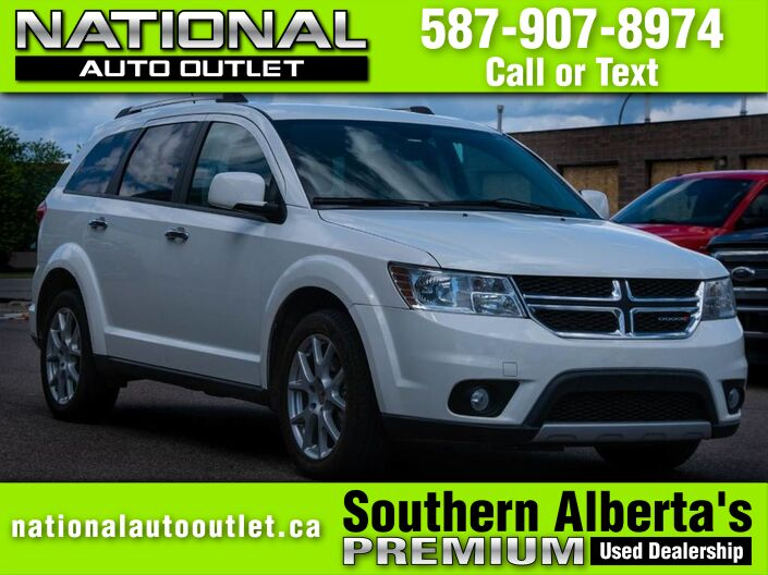 2015 Dodge Journey R/T - AWD, HEATED SEATS & STEERING WHEEL, CLEAN CAR PROOF Lethbridge AB