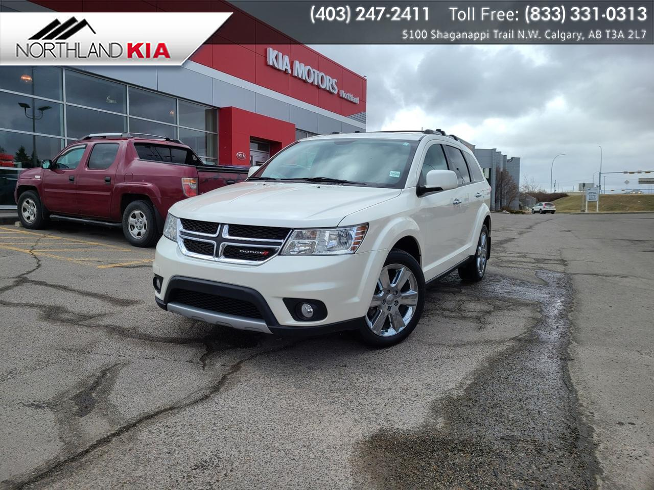 2015 Dodge Journey R/T 7-PASSENGER, DVD PLAYER, HEATED SEATS, BACKUP CAMERA