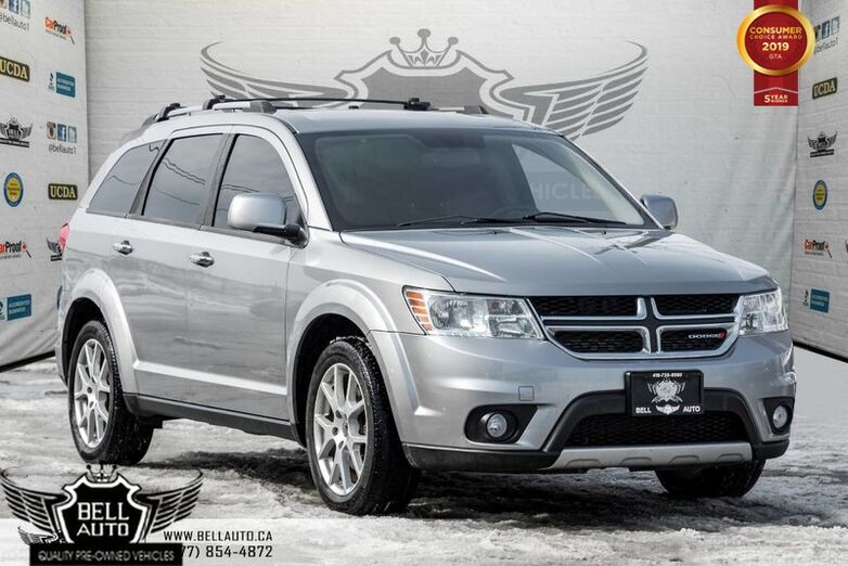 2015 Dodge Journey R/T AWD 7 PASS LEATHER BACK UP CAMERA Toronto ON