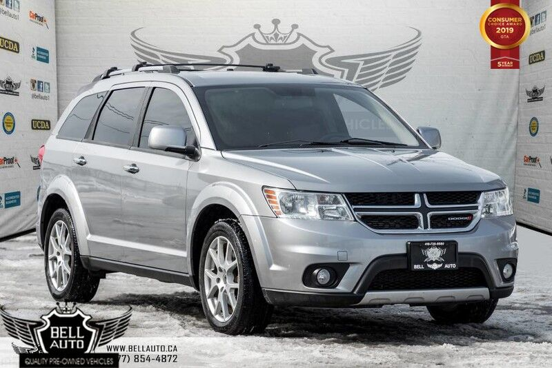 2015 Dodge Journey R/T AWD 7 PASS LEATHER BACK UP CAMERA