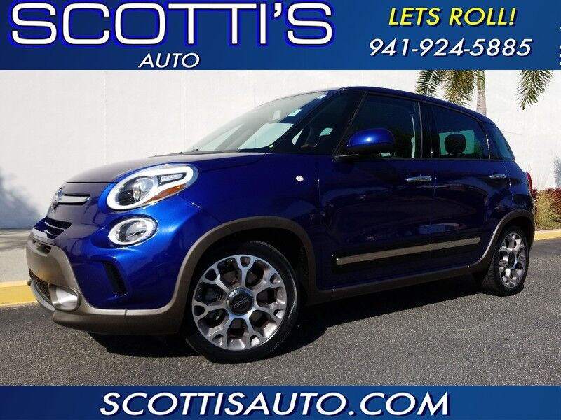 2015 FIAT 500L Trekking EDITION~ 1-OWNER~ CLEAN CARFAX~ AWESOME COLORS~ LOW MILES~ EXCELLENT CONDITION~ FINANCE AVAILABLE~ CONTACT US TODAY! Sarasota FL