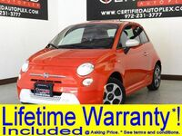 FIAT 500e NAVIGATION LEATHER HEATED SEATS BLUETOOTH REAR PARKING AID POWER LOCKS 2015