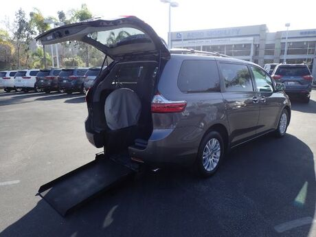 2015 FMI Toyota Sienna Kneelvan Wheelchair Accessible Van Anaheim CA