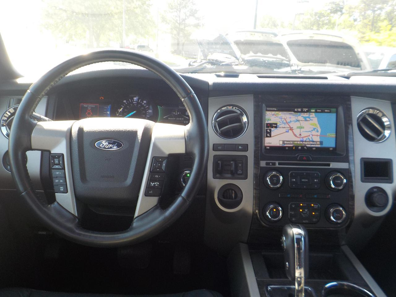 2015 FORD EXPEDITION LIMITED RWD, POWER RUNNING BOARDS, REMOTE START, SUNROOF, POWER 3RD ROW, 2ND ROW CAPTAIN CHAIRS, TOW Virginia Beach VA