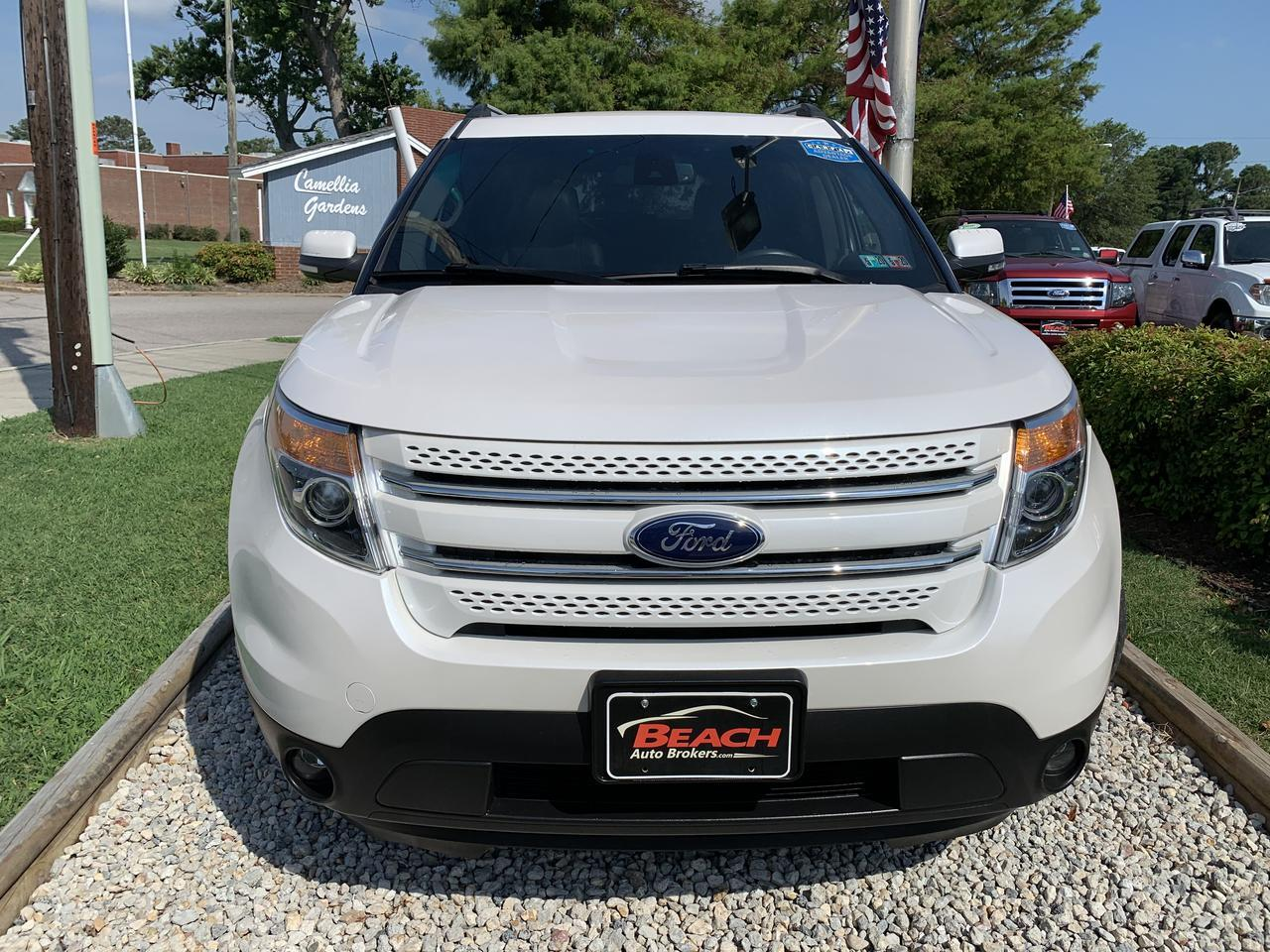 2015 FORD EXPLORER LIMITED 4X4, WARRANTY, LEATHER, SUNROOF, NAV, HEATED SEATS, 3RD ROW, CLEAN CARFAX! Norfolk VA