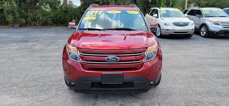 2015 FORD EXPLORER LIMITED AWD 3RD  Ocala FL