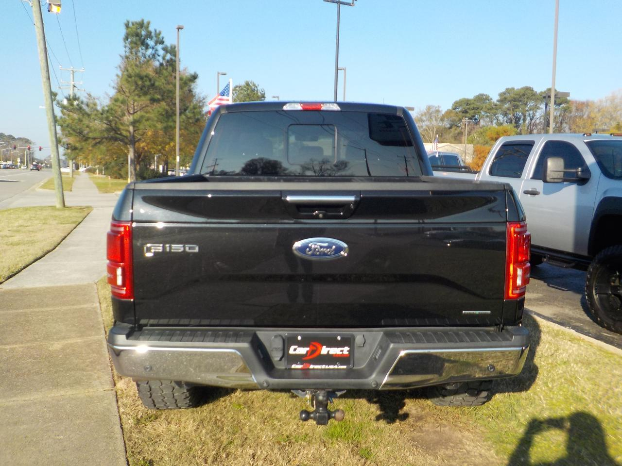 2015 FORD F-150 LARIAT SUPERCREW 4X4, LEATHER, CUSTOM GEAR RIMS, TOW PACKAGE, REMOTE START, BACKUP CAMERA! Virginia Beach VA