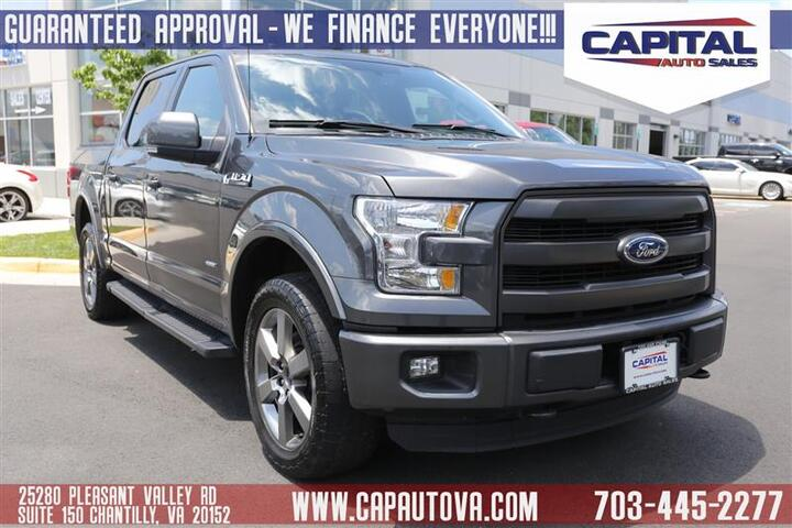 2015 FORD F-150 Lariat Chantilly VA