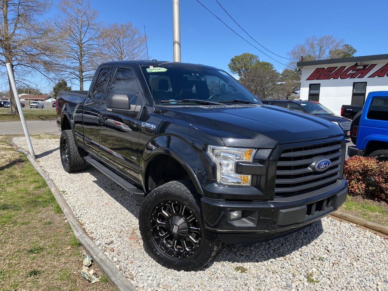 2015 FORD F-150 XLT SUPERCAB, WARRANTY, BACKUP CAM, PARKING SENSORS, HEATED SEATS, AUX/USB PORT, CLEAN CARFAX! Norfolk VA