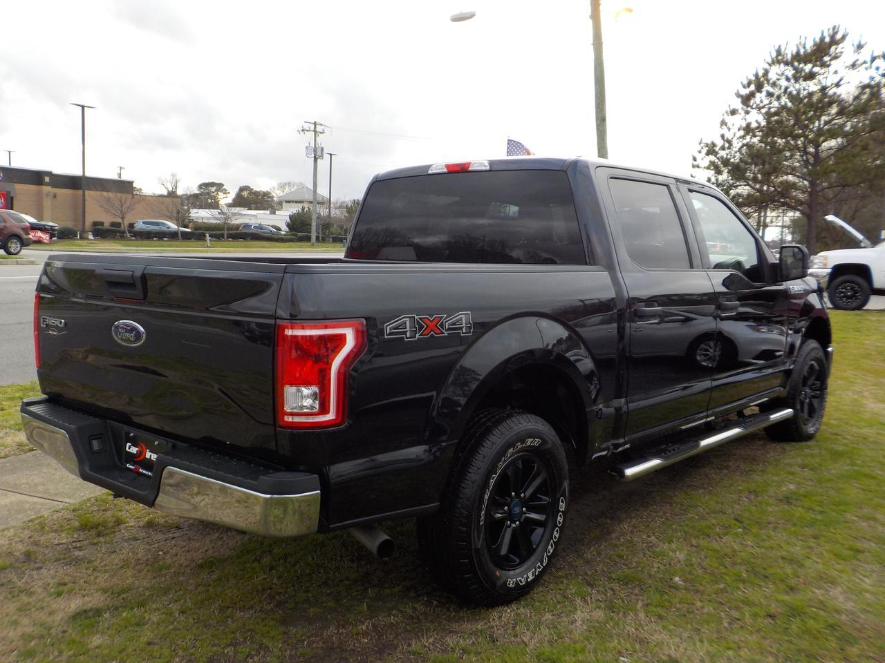 2015 FORD F-150 XLT SUPERCREW 4X4, WARRANTY, RUNNING BOARDS, REMOTE START, TOW, AUXILIARY PORT, SYNC, BLUETOOTH! Virginia Beach VA