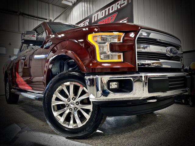 2015_FORD_F150 EXTENDED CAB 4X4_LARIAT_ Bridgeport WV