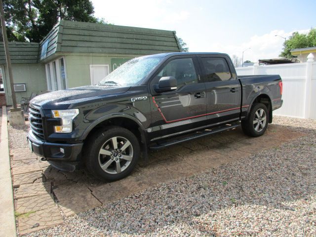 2015 FORD F150 XLT 4WD SUPERCREW