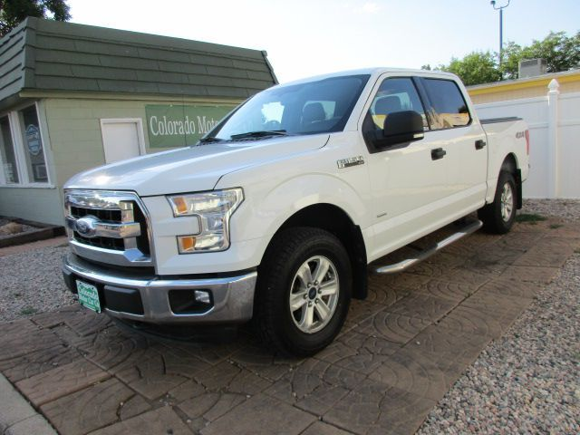 2015 FORD F150 XLT ECO SUPERCREW
