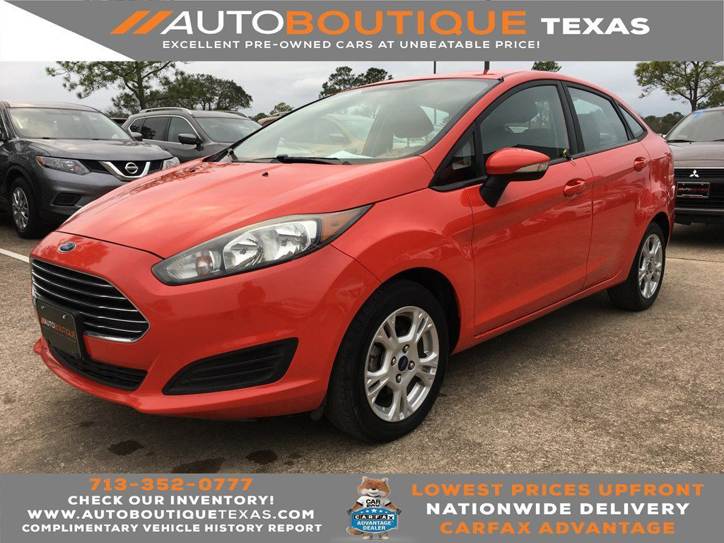 2015 FORD FIESTA SE SE Houston TX