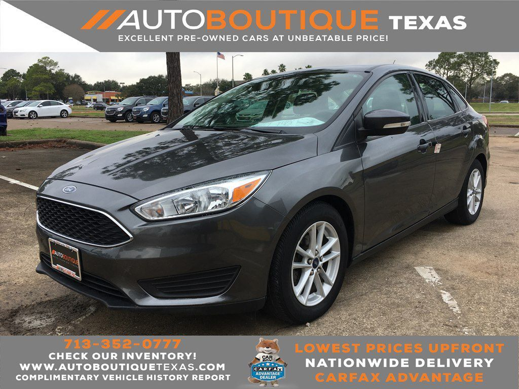 2015 FORD FOCUS SE SE Houston TX