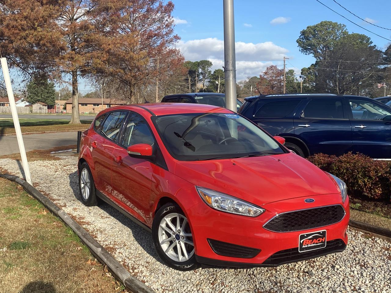 2015 FORD FOCUS SE, WARRANTY, BACKUP CAM, BLUETOOTH, AUX/USB PORT, SIRIUS RADIO, CLEAN CARFAX! Norfolk VA