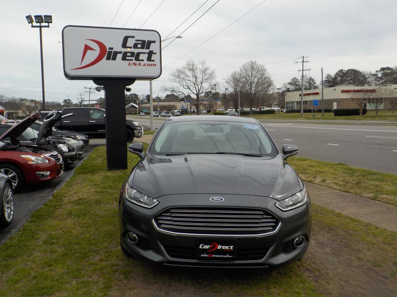 2015 FORD FUSION TITANIUM HYBRID, WARRANTY, BACKUP CAMERA, REMOTE START, BLUETOOTH, SYNC, PARKING SENSORS, LEATHER! Virginia Beach VA