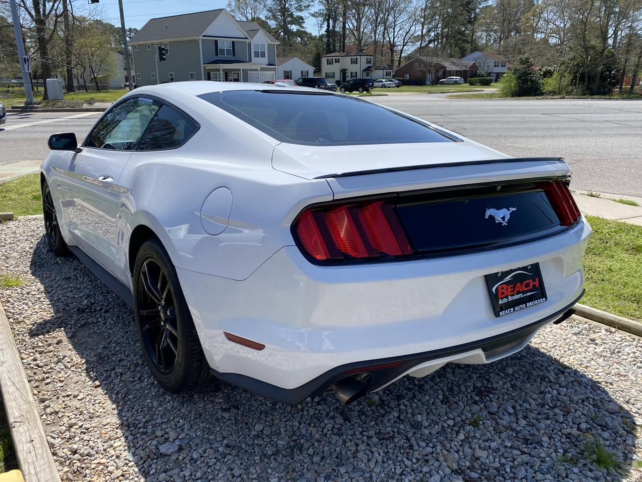 2015 FORD MUSTANG ECOBOOST PREMIUM, WARRANTY, LEATHER, HEATED/COOLED SEATS, BACKUP CAM, PARKING SENSORS, CLEAN! Norfolk VA