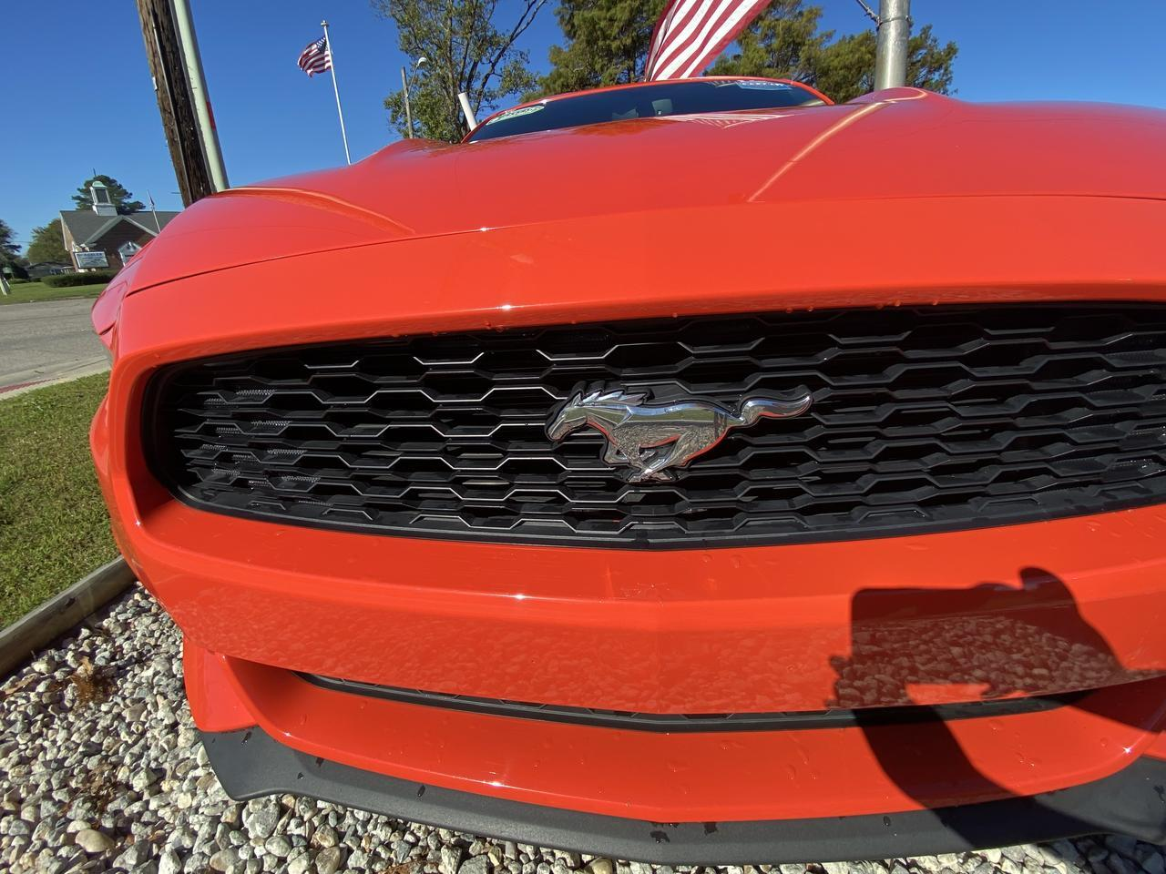 2015 FORD MUSTANG ECOBOOST PREMIUM, WARRANTY, LEATHER, HEATED SEATS, BLUETOOTH, BACKUP CAM, PARKING SENSORS, CLEAN! Norfolk VA