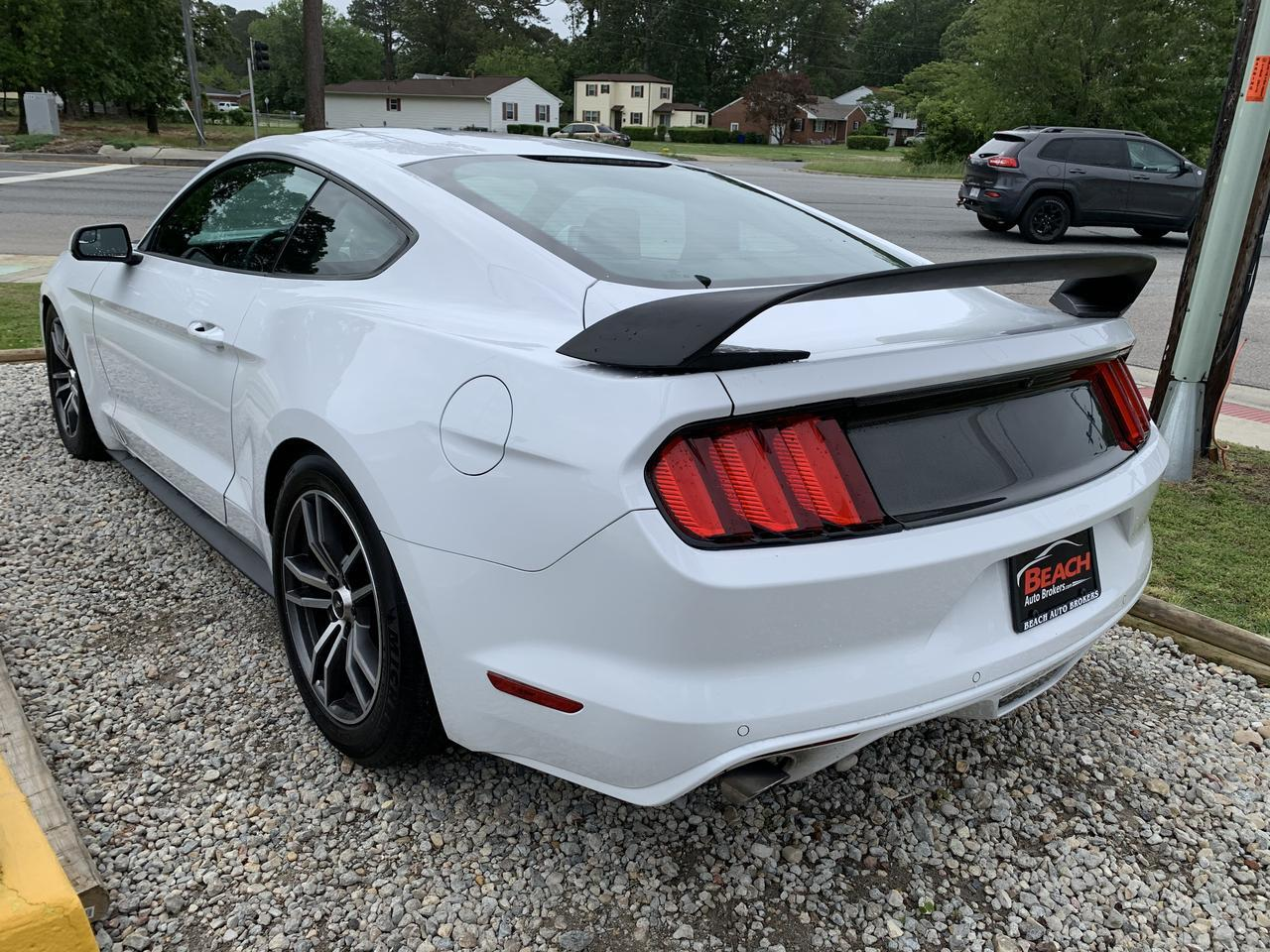 2015 FORD MUSTANG ECOBOOST, WARRANTY, MANUAL, BLUETOOTH, NAV, AUX/USB PORT, KEYLESS START, CLEAN CARFAX! Norfolk VA