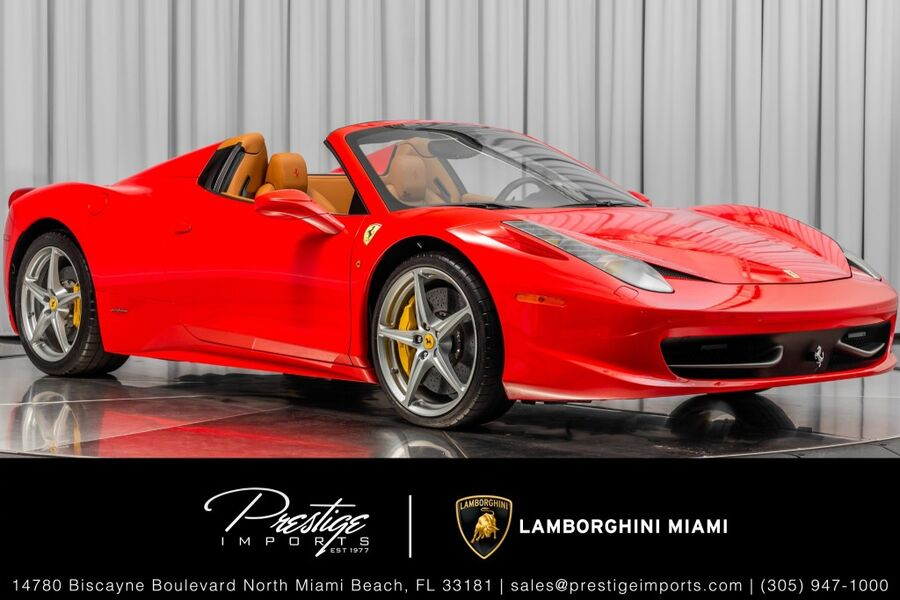 2015_Ferrari_458 Italia__ North Miami FL