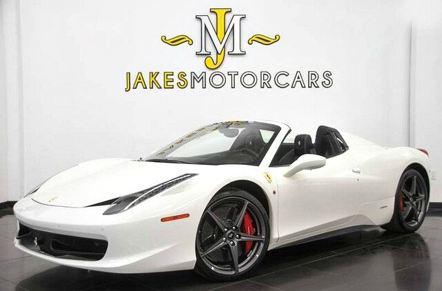 2015 Ferrari 458 Spider ($336,930 MSRP) **$69,627 IN FACTORY OPTIONS** San Diego CA