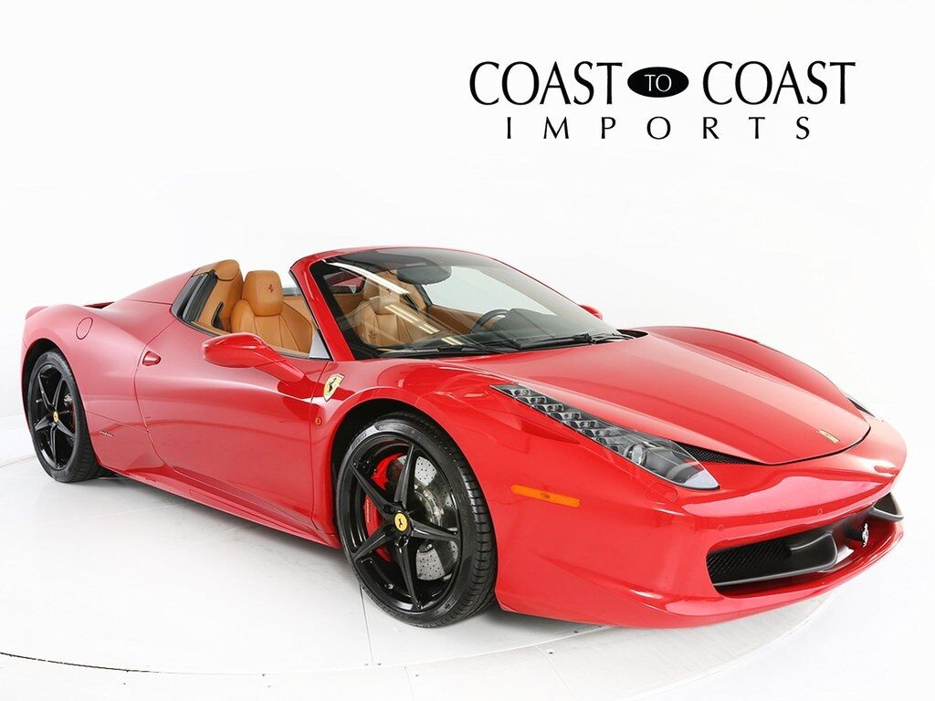 2015 Ferrari 458 Spider Base