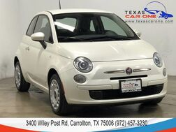 2015_Fiat_500_POP AUTOMATIC BLUETOOTH MULTIFUNCTION LEATHER STEERING WHEEL CRU_ Carrollton TX
