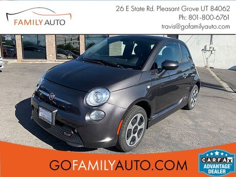 2015 Fiat 500e Battery Electric Hatchback Pleasant Grove UT