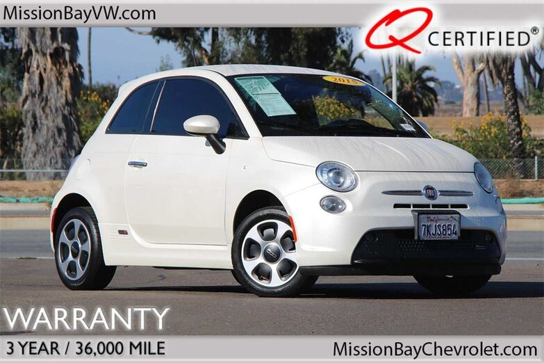 2015 Fiat 500e Battery Electric San Diego CA