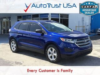Ford Edge SE 1 OWNER BACKUP CAM MEDIA HUB 18' RIMS LOW MILES 2015