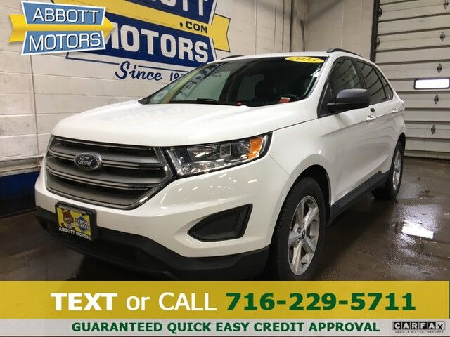 2015 Ford Edge SE AWD 1-Owner w/Factory Warranty Buffalo NY