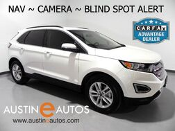 2015_Ford_Edge SEL_*NAVIGATION, BLIND SPOT ALERT, BACKUP-CAMERA, LEATHER, HEATED SEATS, POWER LIFTGATE, BLUETOOTH_ Round Rock TX