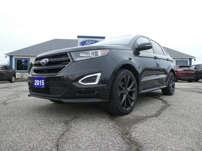 2015 Ford Edge Sport- LOADED- NAV- LEATHER- HEATED SEATS- REMOTE START Essex ON