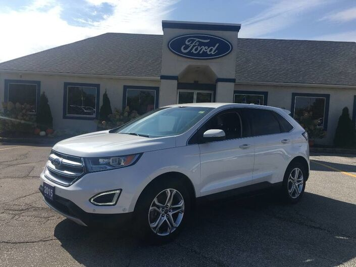 2015 Ford Edge Titanium- LANE KEEP ASSIST- HEATED SEATS- LEATHER Essex ON