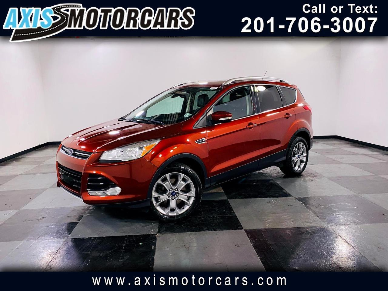 2015 Ford Escape 4WD 4dr Titanium w/Backup Camera Navigation Jersey City NJ