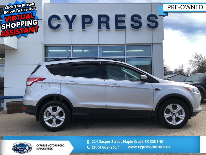 2015 Ford Escape SE- 2.0l, Trailer Towing  - Heated Seats - $136 B/W Maple Creek SK