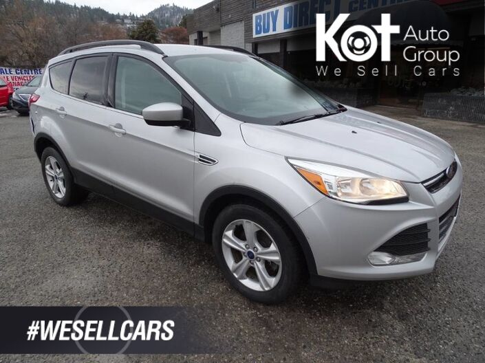 2015 Ford Escape SE, Bluetooth, Back-up Camera, Heated Seats Kelowna BC