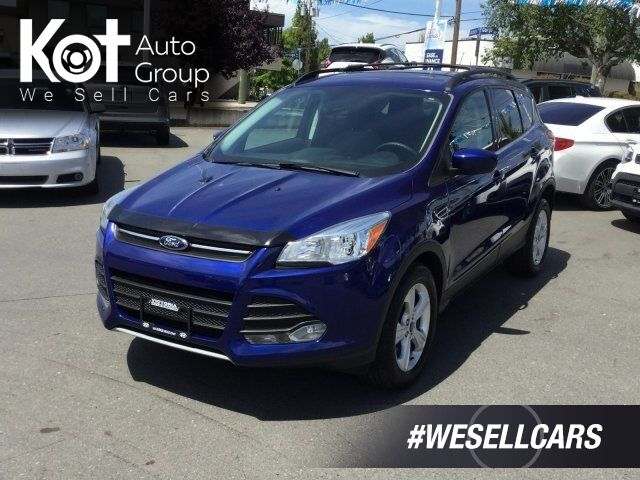 2015 Ford Escape SE Ecoboost FWD Navigation, Backup Camera, Keyless Entry Victoria BC