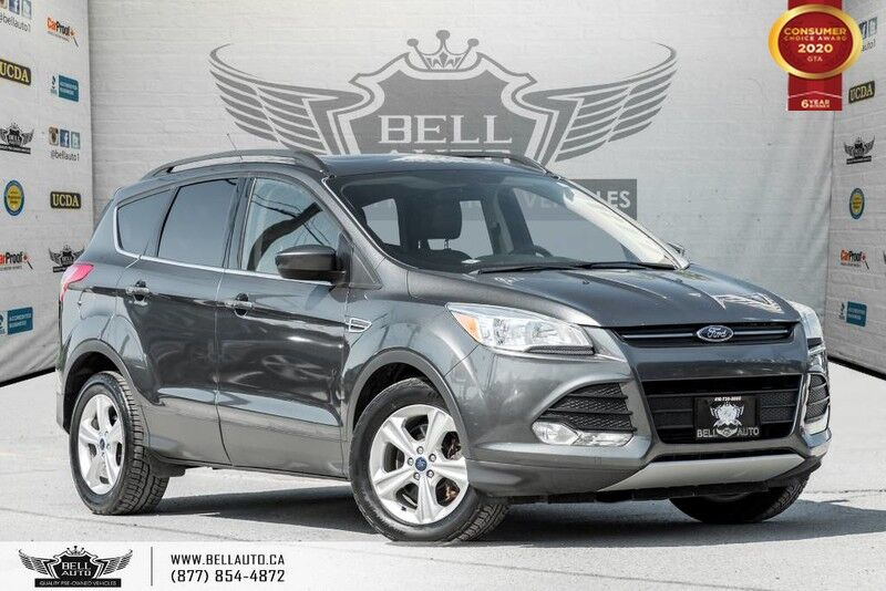 2015 Ford Escape SE, NO ACCIDENT, REAR CAM, LEATHER, PANO ROOF