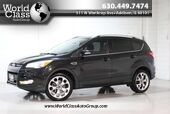 2015 Ford Escape Titanium - AWD FULLY LOADED POWER HEATED LEATHER SEATS NAVIGATION BACKUP CAMERA BLUETOOTH AUDIO KEYLESS ENTRY PUSH BUTTON START PANO ROOF WITH SUNSHADE SONY AUDIO