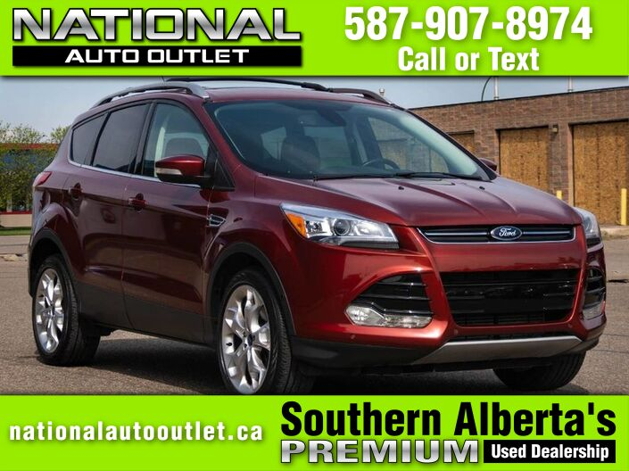2015 Ford Escape Titanium - CLEAN CARFAX - ONE OWNER- HEATED CLOTH SEATS Lethbridge AB