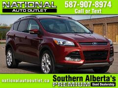 2015 Ford Escape Titanium - CLEAN CARFAX - ONE OWNER- HEATED CLOTH SEATS